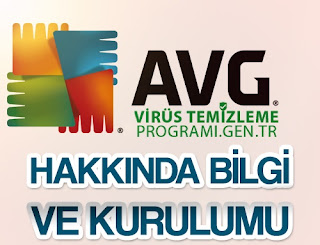 AVG antivirüs programı