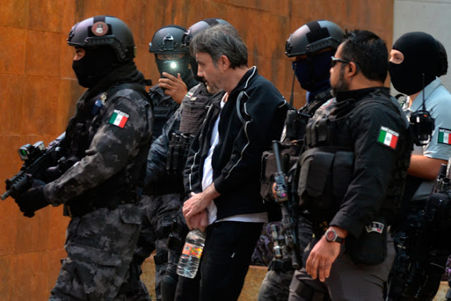 """AL MOMENTO; CAE Álvaro López Núñez hermano de """"El Licenciado"""" Dámaso y tío de """"El Mini Lic"""""""
