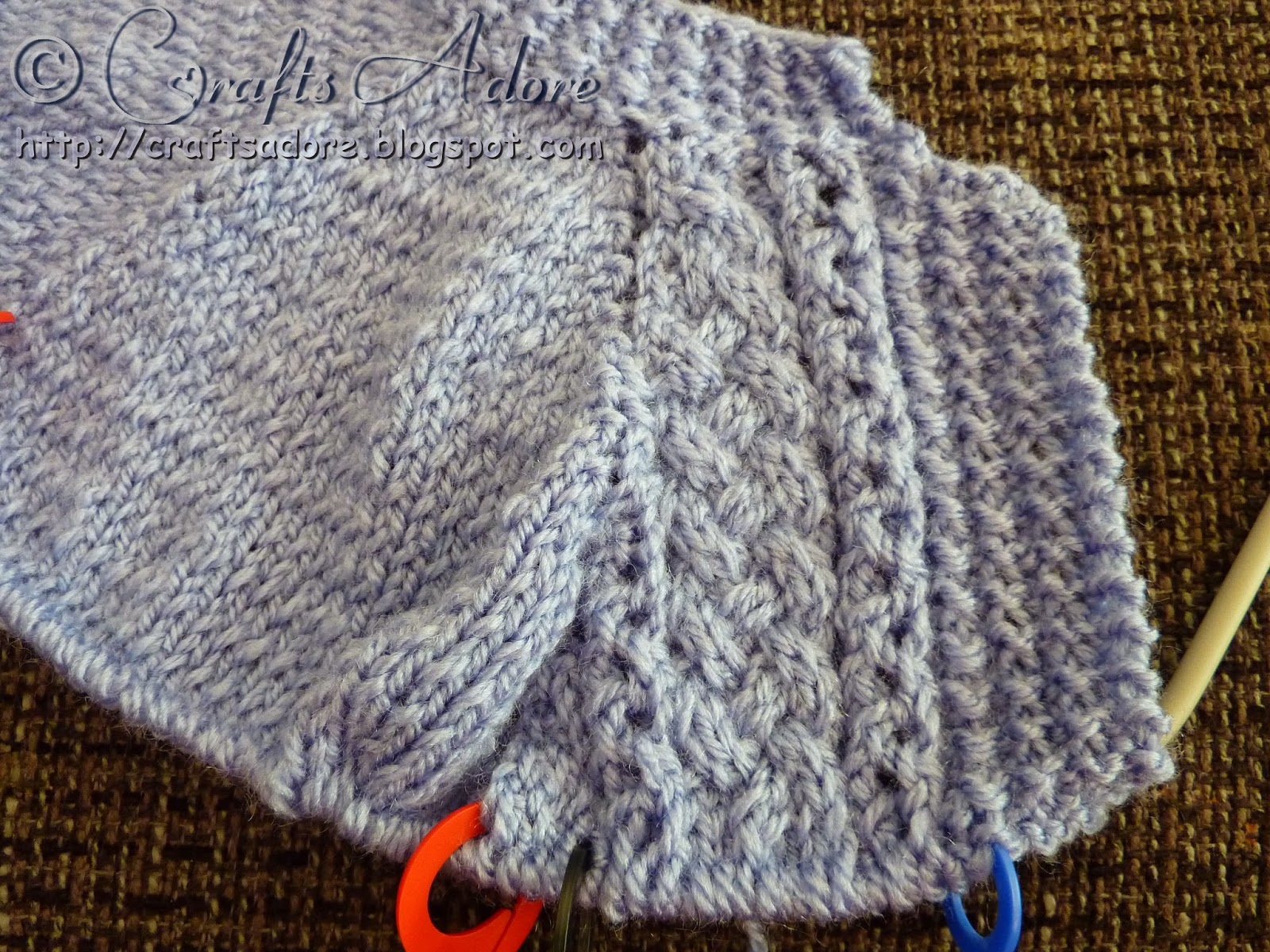 """CraftsAdore: """"Handsome Cables"""" Knitted Baby Boy Cardigan ..."""
