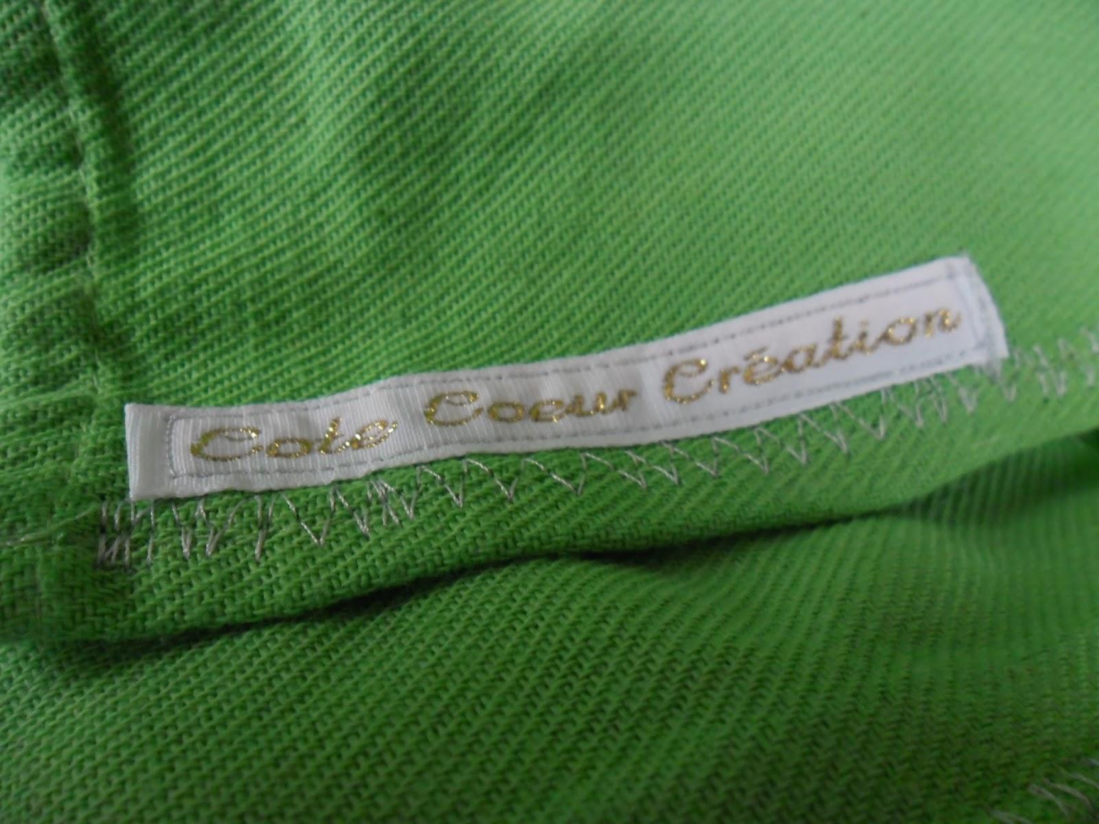 écharpe française sergé croisé Côté coeur coté portage porter bébé tissage dd3bf968ff2