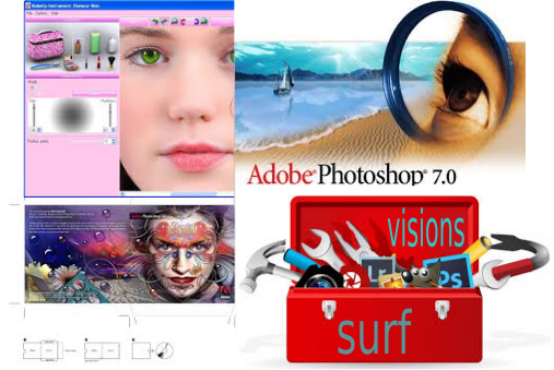 design avec photo shop