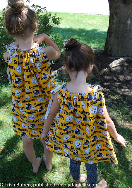 DIY Spirit Wear Pillowcase Dresses