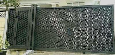 pintu besi tempa adalah pagar klasik