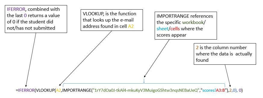 Teaching Above the Test: Assign XP automatically using Vlookup