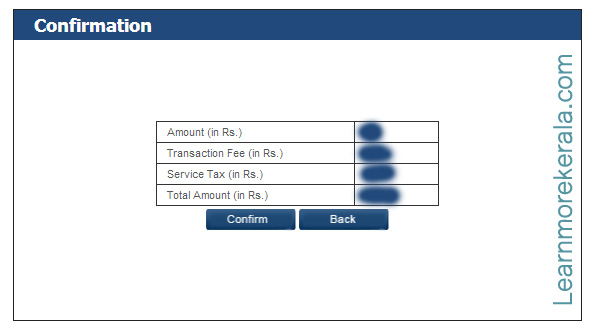 Electricity board electricity Bill Payment confirmation