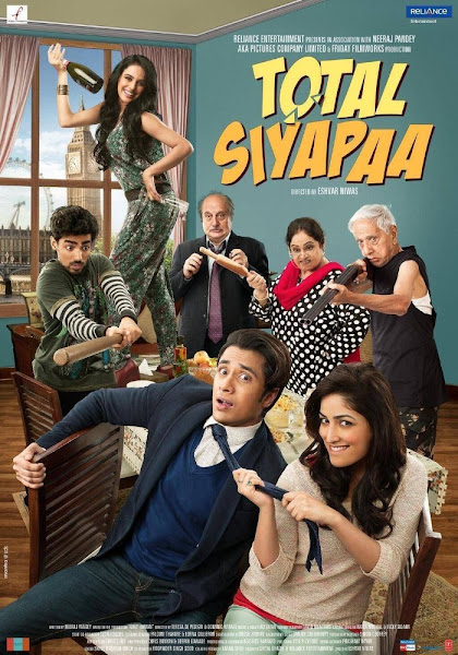 Total Siyapaa 2014 720p Hindi DVDRip Full Movie Download extramovies.in Total Chaos 2014