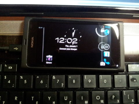 Nokia N9 receives Android 4 0 ICS port