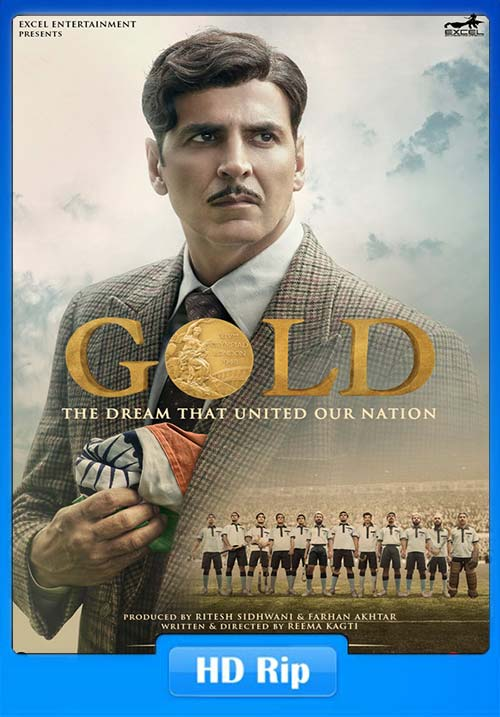 Gold 2018 Hindi 720p HDRip x264 | 480p 300MB | 100MB HEVC