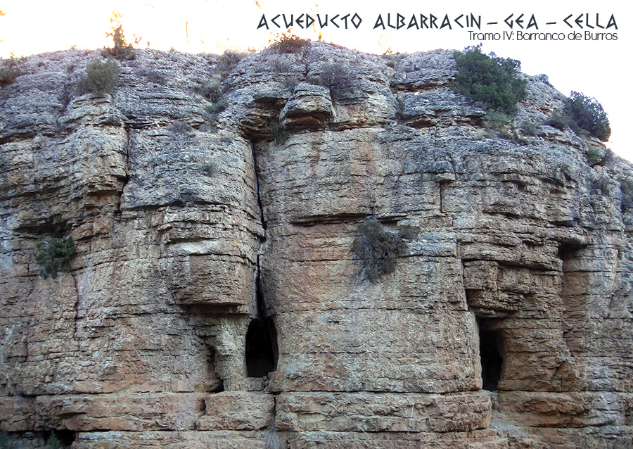 Acueducto romano Albarracin - Gea - Cella