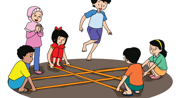 Kerukunan Dan Persatuan Dalam Permainan Tradisional Rangku Alu Halaman 28 Belajar Kurikulum 2013