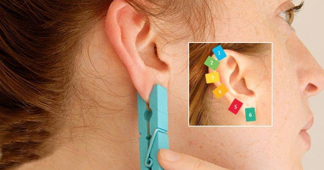 Put a Clothespin on different areas of Your Ears For 30 Seconds. The Results Will totally Surprise You