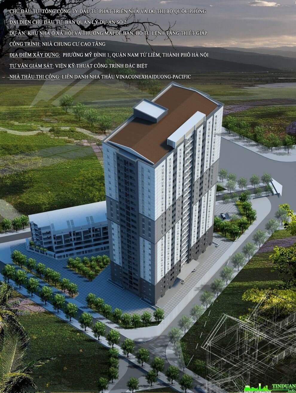 Dự án căn hộ chung cư Tăng Thiết Giáp