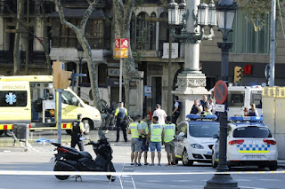 One of Barcelona's terrorist attackers killed after exchange fire with Spanish police