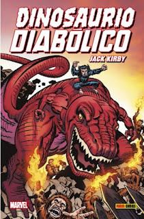 Dinosaurio Diabólico de Jack Kirby