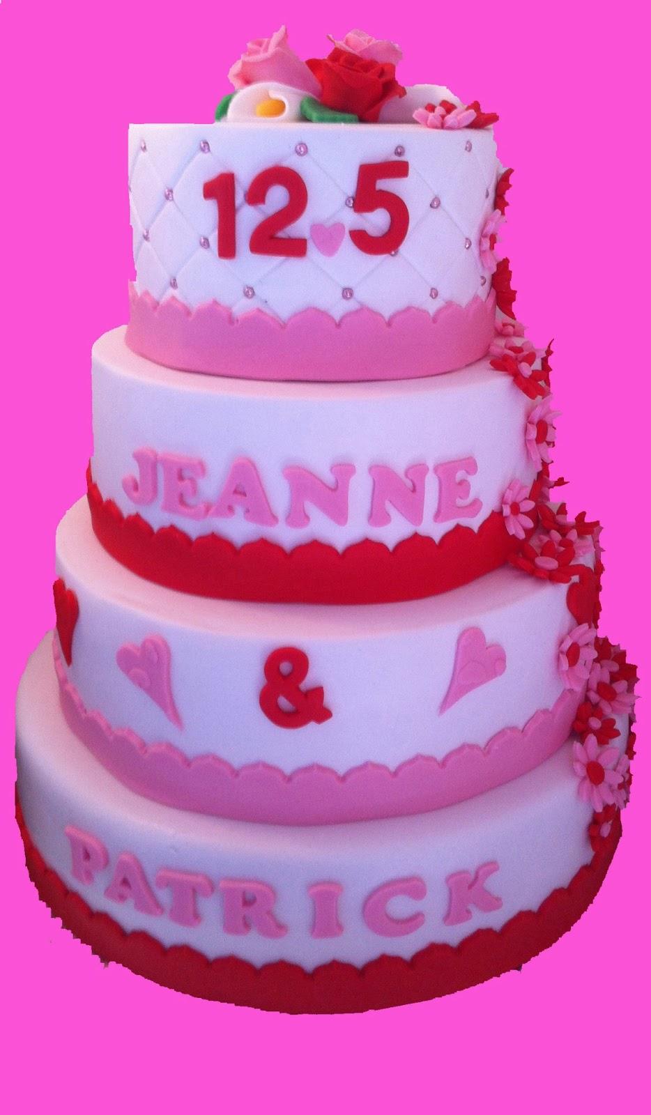 12 5 jaar getrouwd taart Juffrouw Taart: 12.5 jaar getrouwd 12 5 jaar getrouwd taart