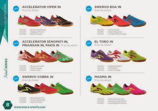 Sepatu Futsal Specs Terbaru