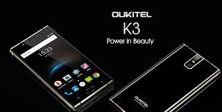 واصفات هاتف OUKITEL K3 القادم ( بطارية كبيرة - مواصفات قوية )