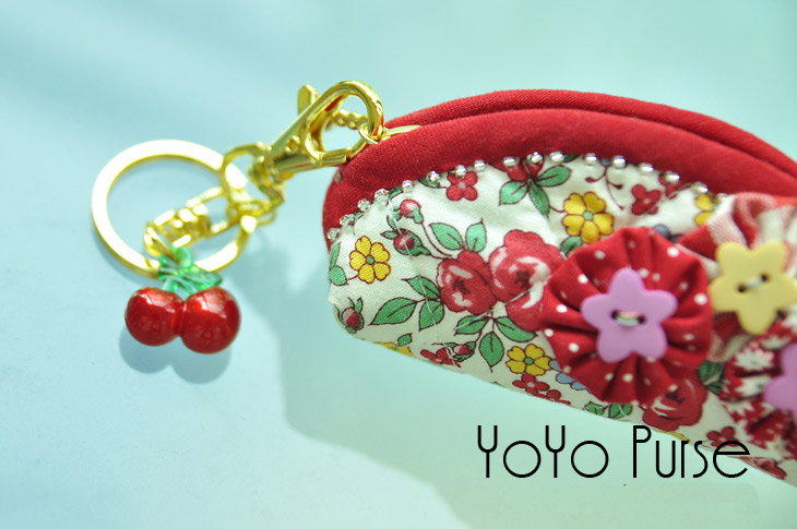 Zipper Bag Purse Trinket Box. Tutorial DIY in Pictures.