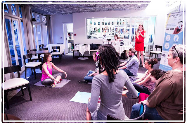 cours de yoga de Julie Ferrez