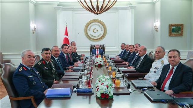 Turkish Supreme Military Council replaces land, air and navy commanders