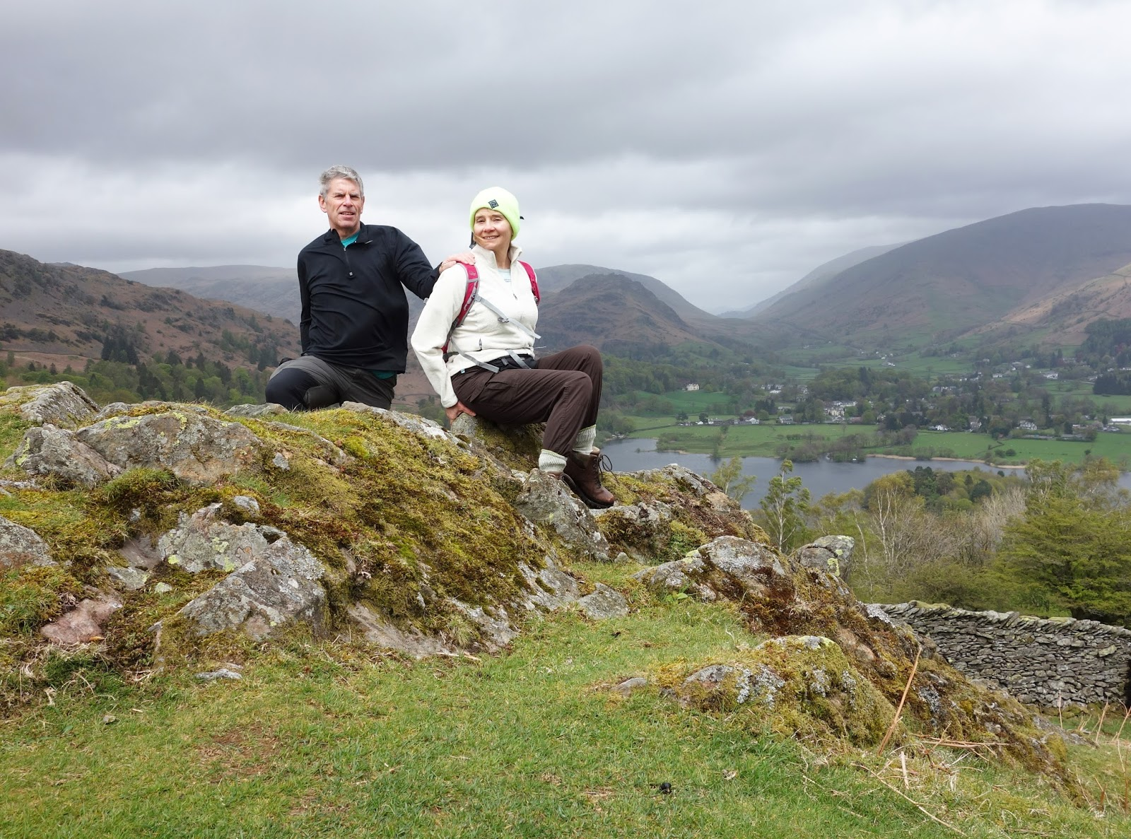 Blogger Gail Hanlon from Is This Mutton? and husband John on a hike in the Lake District