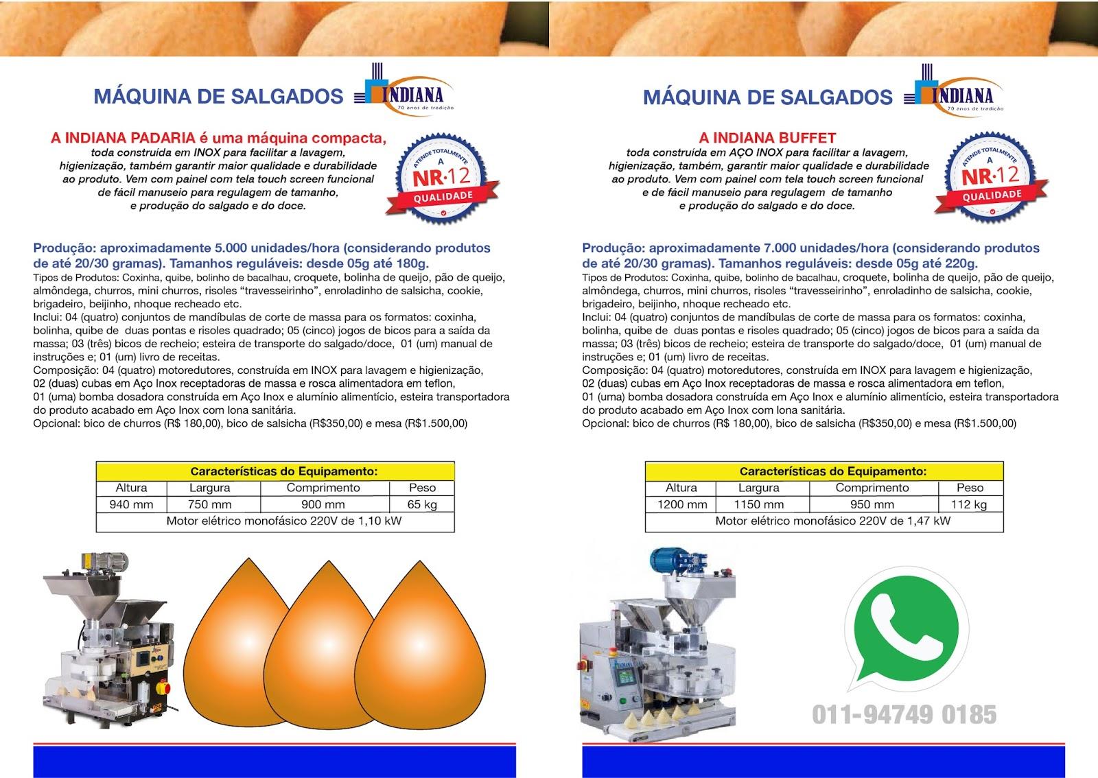 Fabrique Doces E Salgados Em S Rie Equipamentos Padarias E