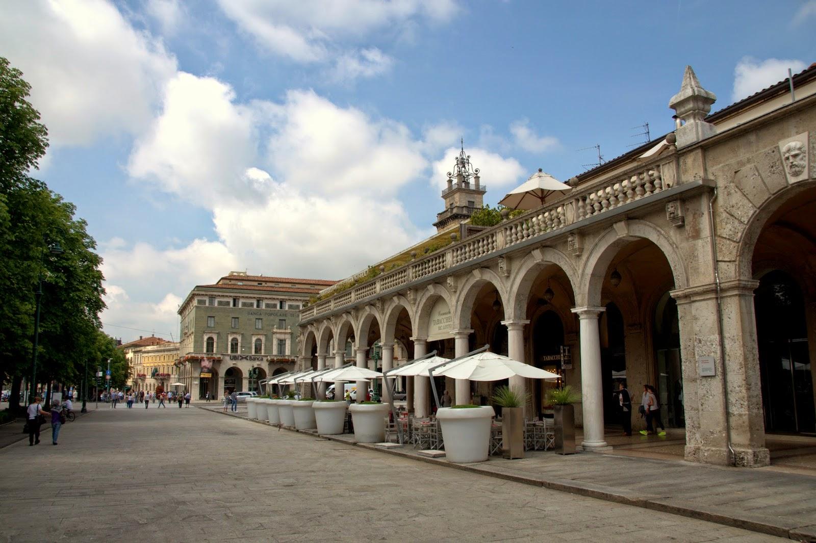 Urokliwe zaułki Bergamo, dolne miasto