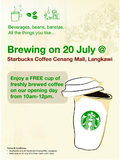 starbuck - FREEBIES - [ENDED] FREE coffee at Strbucks!