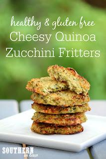 Healthy Zucchini Quinoa Fritters Recipe