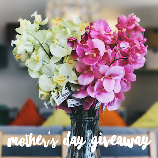 Enter the Mother's Day Cash Giveaway. Ends 5/22. Open WW.