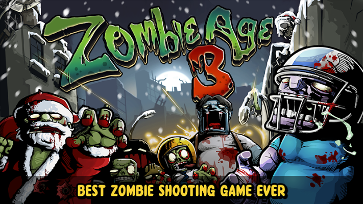 Zombie Age 3 MOD APK [Unlimited Ammo & Money] V1.1.9 Latest