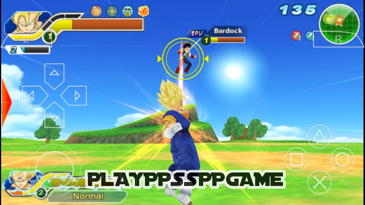 Dragon Ball Z Tenkaichi Tag Team PSP ISO PPSSPP For ...