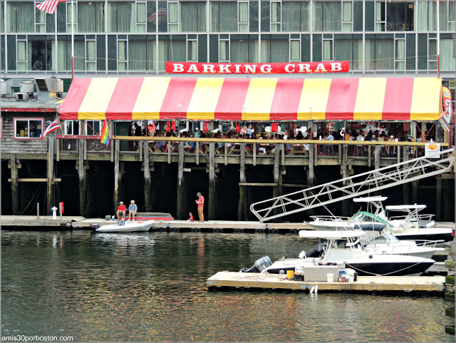 The Barking Crab en Boston