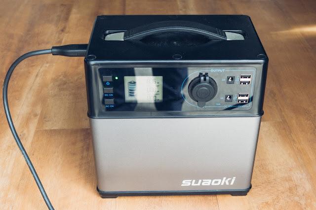 Suaoki 400Wh Mobiler Energiespeicher 01