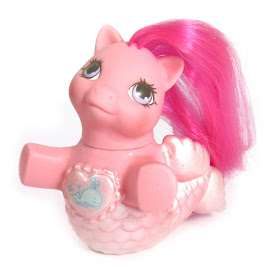 My Little Pony Baby Pearly Year Ten Fancy Mermaid Ponies G1 Pony