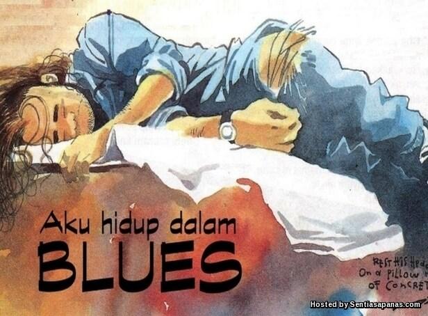 Aku Hidup Dalam Blues