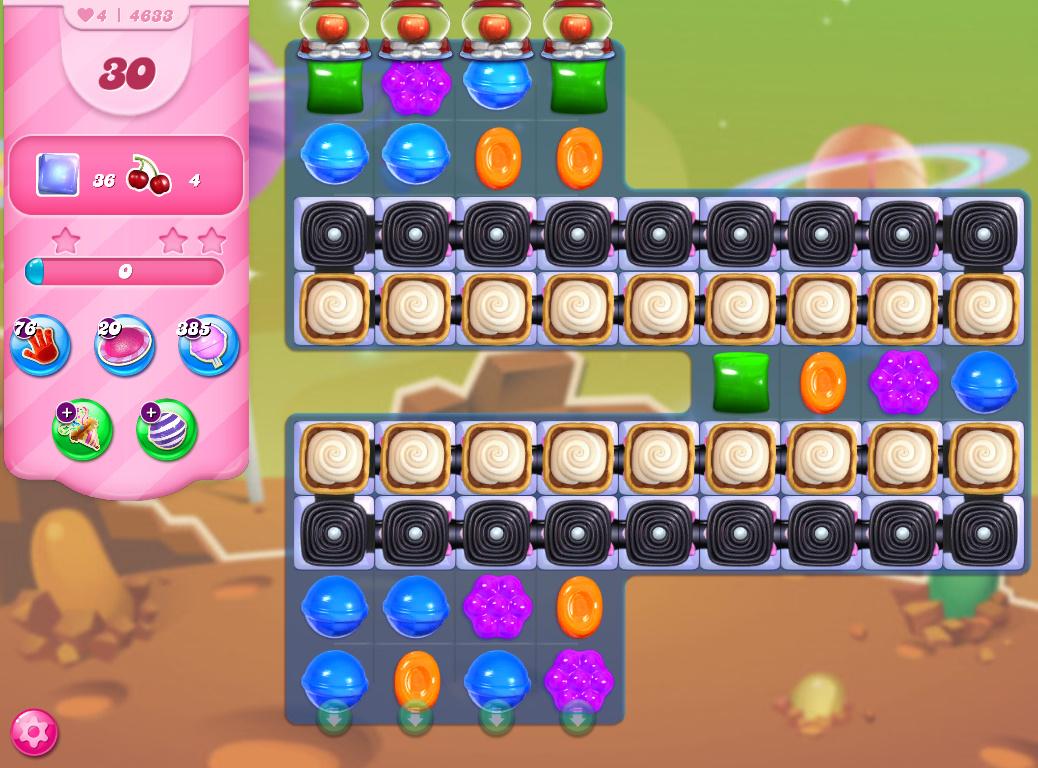 Candy Crush Saga level 4633
