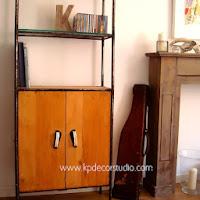 Estantería vintage industrial antigua online valencia