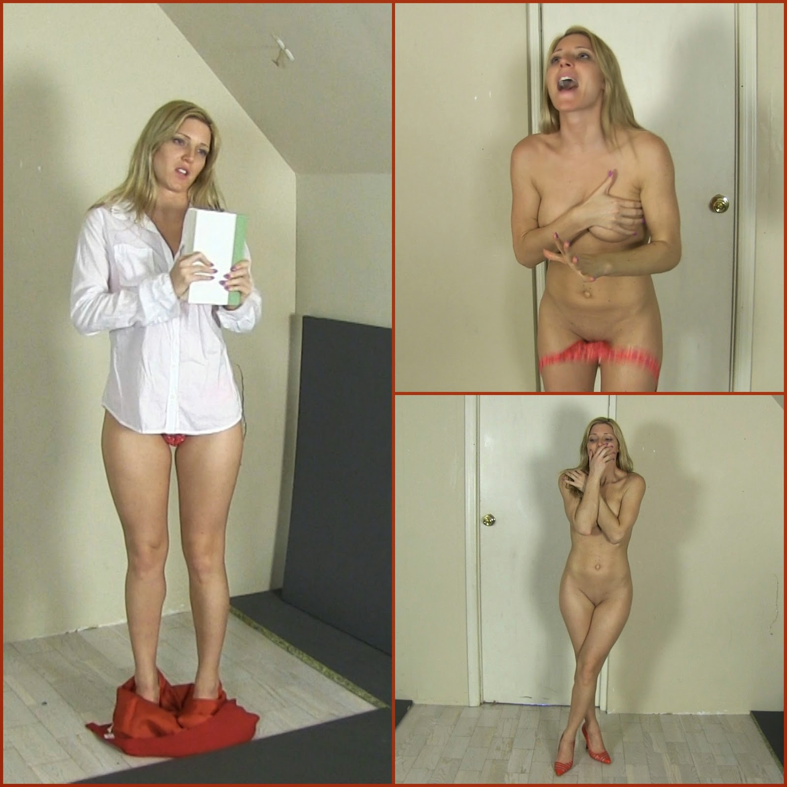 Hot Naked Girl Embarrassed