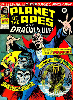 Marvel UK, Planet of the Apes #88, Dracula Lives