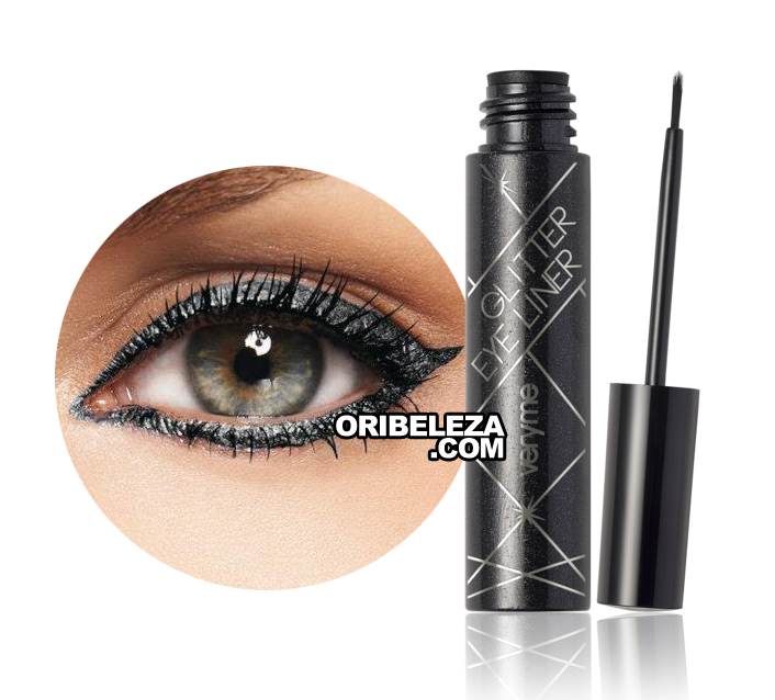 Eye Liner Glitter Very Me - Black