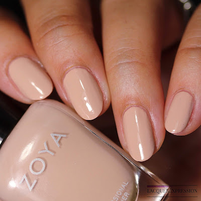 Nail polish swatch of Zoya Nahla from the Summer 2018 Sunshine Collection
