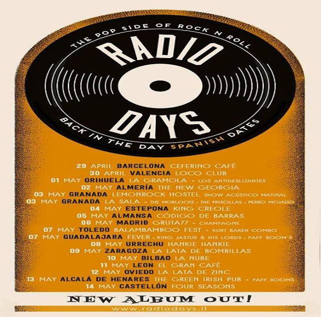 Radio Days - Gira España 2016