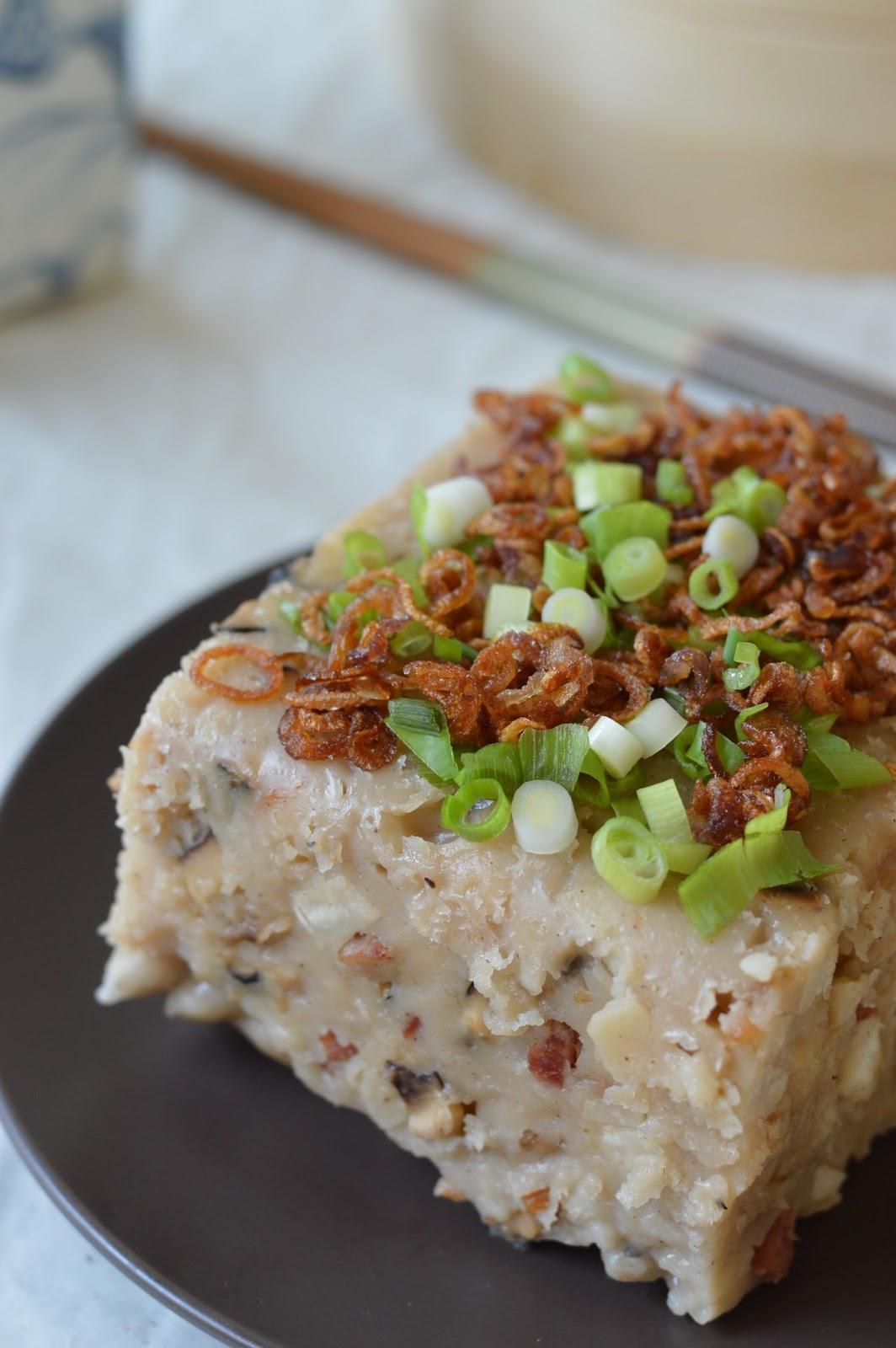 Sweet Taro Cake Recipe