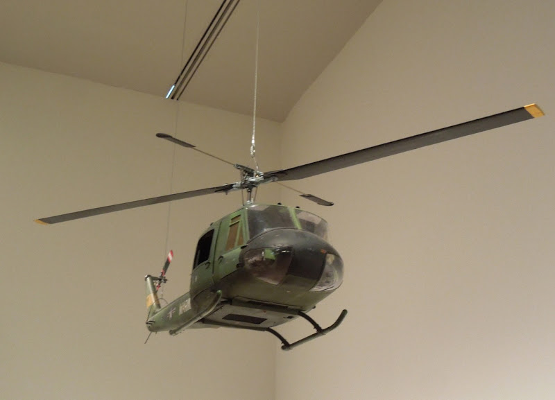 Full Metal Jacket US Army helicopter model