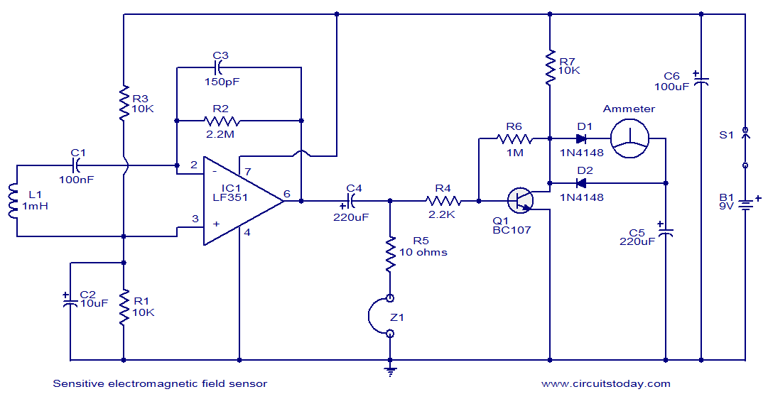 Diagram Electromagnet Magnetic Field