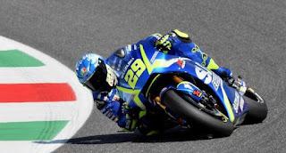 Hasil FP3 MotoGP Jerman 2018: Iannone Tercepat, Rossi Keempat
