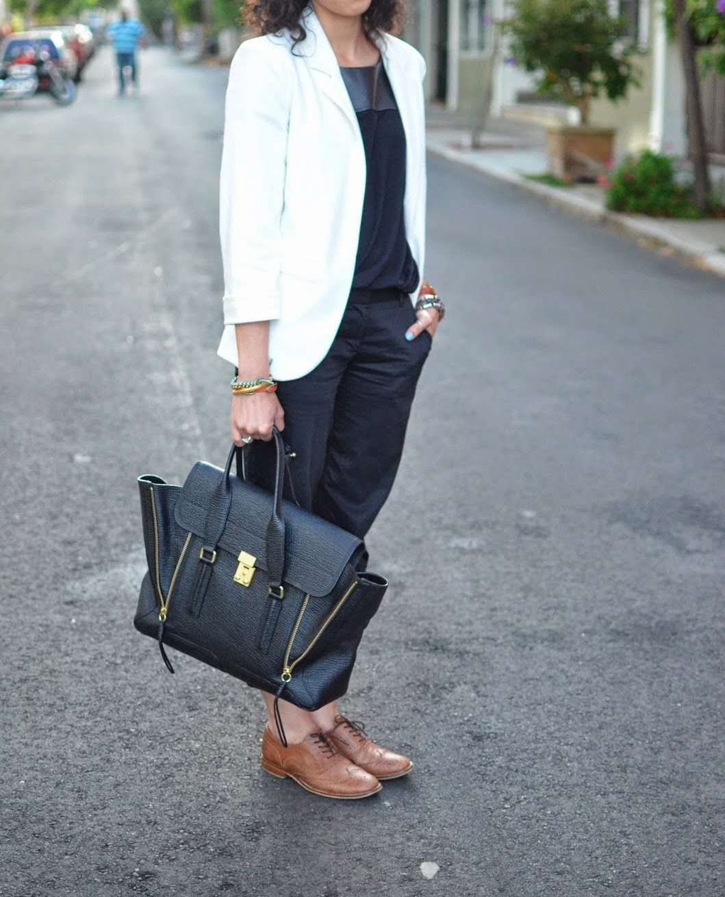 Chic And Silk: STREET STYLE: Brogues Oxford Derby! 25