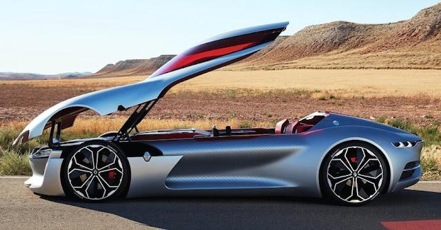 ルノーがルーフの開き方が独特すぎる新型コンセプトカー「トレゾア」を発表!