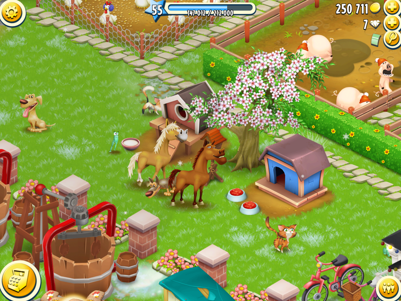 Hay Day para dispositivos móviles, pc y facebook